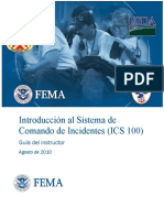 Ics - Introduccion Al Sistema de Comandos de Incidentes - g.i.