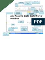 Ambiente de Trabajo de Excel Azul Suchil Garcia