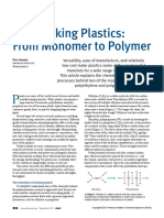 Making Plastics From Monomer to Polymer CEP Sep 2015