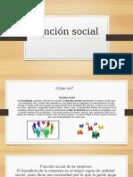 Función Social