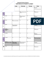 Term One 2016 Student Planner
