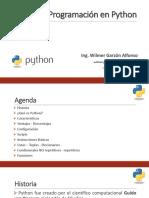 1. Introduccion a Python