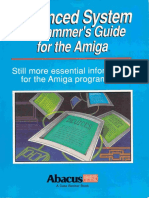 Advanced System Programmers Guide for the Amiga