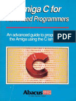 Amiga C for Advanced Programmers