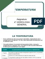 3.1.2 Temperatura