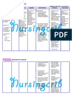 Nursing Care Plan for Breast Cancer NCP