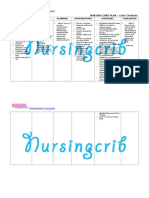 Nursing Care Plan for Liver Cirrhosis NCP