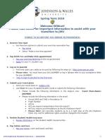 Student Information Sheet Spring- 2016