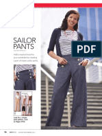 Pattern Play - Sailor Pants