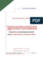 UPE Modelo de Plano Bienal Atividades Docentes Versao Jan2007