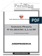 Sentencia Plenaria 01-2015
