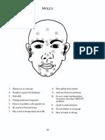 Face Reading - Moles