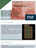 Exposicion de Cimentacion (Segunda Presentacion)