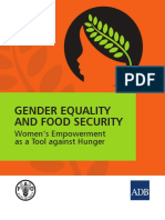 Gender Equality and Food Security