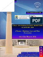 GNLU International Maritime Academy 2016 Brochure. PDF