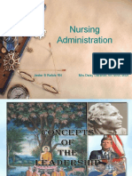 Management in Nursing