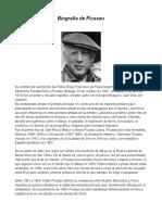 Biografía Pablo Picasso