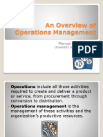 01-An Overview of Operations Management