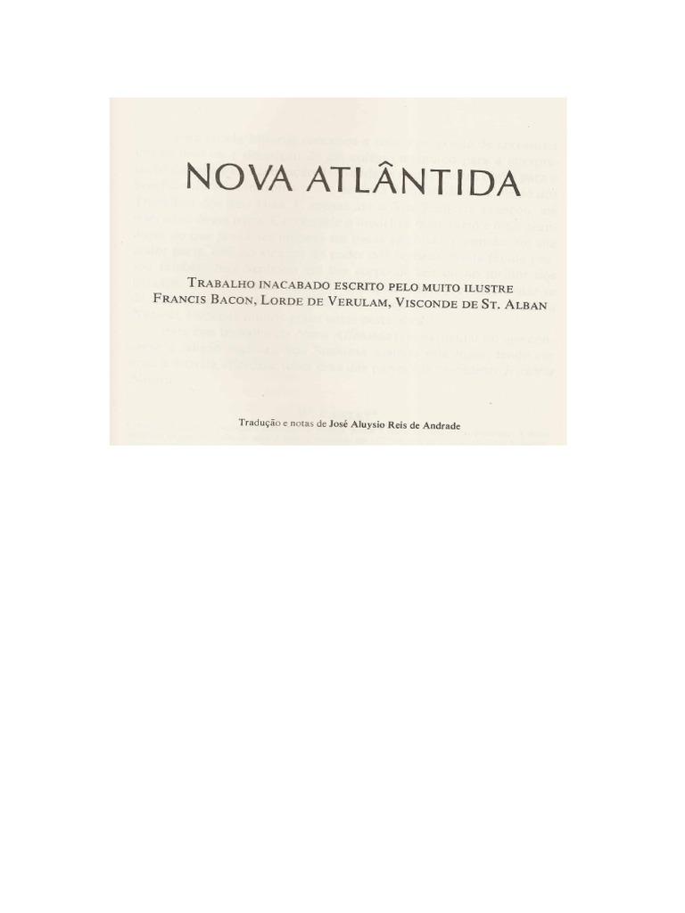 Nova Atlantida Francis Bacon Pdf
