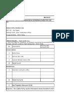 Bill No. Ra Bill - 1 Adani Project Tn (Str) Lax(1)21jan