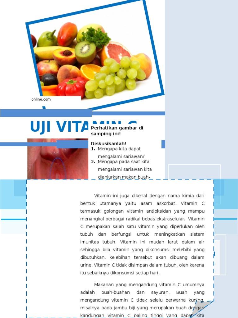 Uji Vitamin C