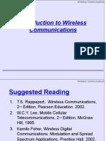 Wireless Communication Introduction