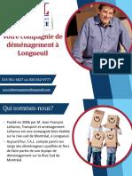Prix & déménageurs pour votre déménagement à Longueuil