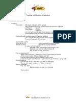 4.1 Handout - Teaching Acceleration