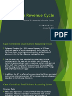 Assignment System Case on the Revenue Cycle