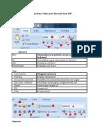 Fungsi Menu Toolbar Pada Microsoft Excel 2007