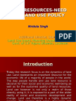 LAND RESOURCES-NEED FOR LAND USE POLICY (Power).ppt