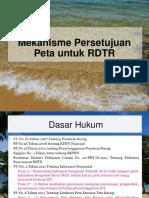 Mekanisme Persetujuan Peta Untuk RDTR pada Badan Informasi Geospasial (BIG)