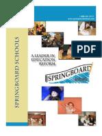 Springboard Schools 2010-2011 Catalogue