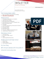 BIFS Newsletter, 2016-02-05 (English)