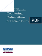 Countering Online Abuse of Female Journalists
