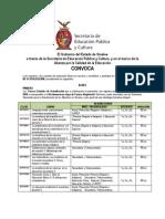 CONVOCATORIA CEA 2009-2010