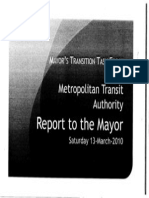 Metro Report to Mayor Annise Parker Pt 1 (repost)