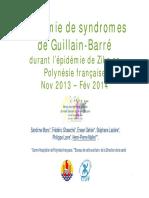 Zika syndrome Guillain-Barré
