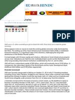 Dragon Power on Display AIIB - The Hindu Mobile Edition