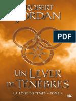 Un Lever de Tenebres - Jordan Robert