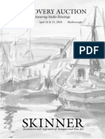 Skinner Discovery Auction 2500 | Studio Paintings