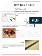 Preppers Basic Skills - Weapons II