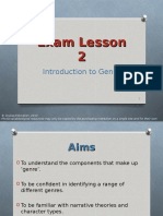 Lesson-2 GENRE Todo Propp Use Narrative Structures From Goffs