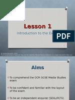 Lesson-1 Intro to Exam