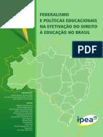 LIVRO Federalismo e Políticas Educacionais