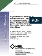 32438 Biomass -Ethanol Process