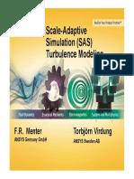 LiU Turbulence SAS Modeling
