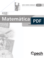 Guia Cursos Anuales - Algebra 2009