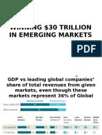 winning $30 Trillion in emerging markets