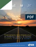 Financiamiento de La Infraestructura en LAC
